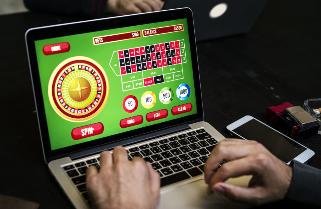 Gambling means wagering of some amount of money